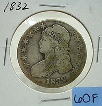 1832 Bust Half