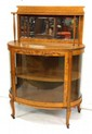 Oak Crystal Cabinet