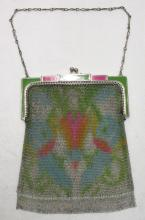 20's-30's Dresden Whiting& Davis Deco Bag