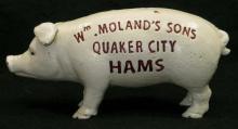 Cast Iron Pig Adv. Bank