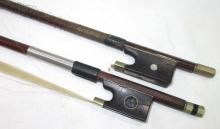 2 Old Violin Bows