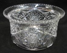 Am. Brilliant Cut Glass Hat Vase