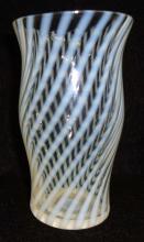 Opalescent Swirl Vase