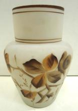 H.P. Art Glass Vase