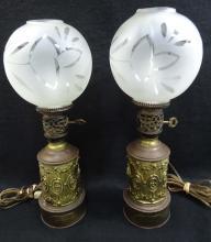 Pr. Boudoir Lamps