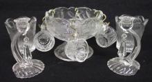 11pc Pattern Glass