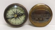 Modern Brass Winchester Compass