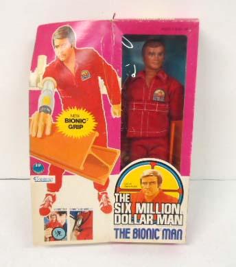 1973 6 Million Dollar Man in Orig. Box