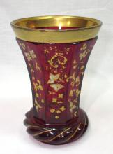 Ruby Moser Vase
