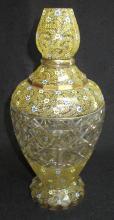 Moser Gourd Vase