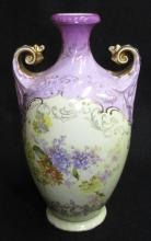 Royal Saxe HP Vase