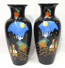 Pr. HP English Vases