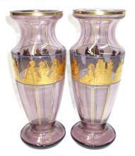 Pr. Sgnd. Czech. Vases