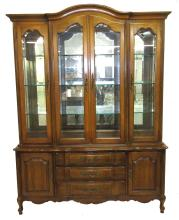 Modern Breakfront China Cabinet
