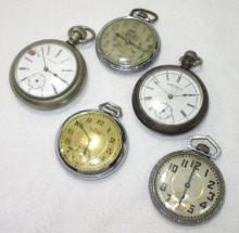 5 Pocket Watches