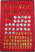 WWII Japanese Emblems, Etc.