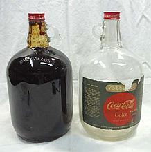 2 Coca Cola Syrup Jugs
