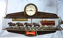 Budweiser Clydesdale Clock