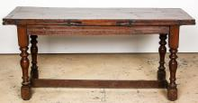 Antique Northern European Refectory Table