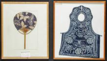 2 Framed Asian Artifacts