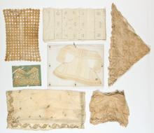 7 Antique Continental Embroideries