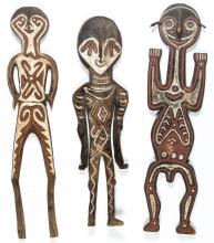 3 PNG Figural Gope Boards