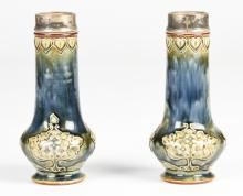 Pair of Royal Doulton Vases, early 20th c.