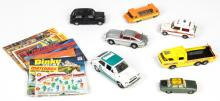 Group of Vintage European Toy Cars