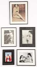 Group of 5 Framed Works by Various Artists