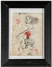 Justin McCarthy (American, 1892-1977) Very Early Drawing