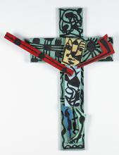 George Colin (American, 20th c.) Crucifix
