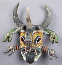 Mexican Mask from the Dance of the Devils