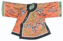 Antique Chinese Silk Embroidered Jacket