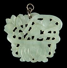 Jade, Hetian Jade or Hard Stone Carved Pendant