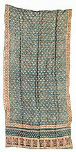 Antique Indian Cotton Bandhani (tied and dyed) Odhani (shawl): 36