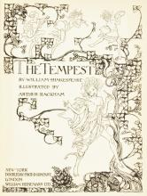 Arthur Rackham Illustrated Shakespeare's The Tempest