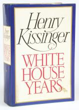 Autographed Copy of Henry Kissinger's White House Years