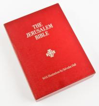 The Jerusalem Bible With Illustrations by Salvador Dali