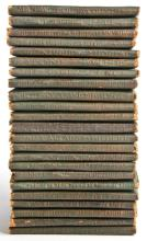 Lot of 22 Redcroft Little Leather Library Books