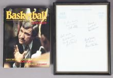 Dean Smith Signed Book and Letter