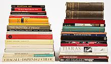 Group of 35 Books including Chagall's Daphnis & Chloe