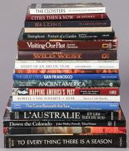 Group of 19 coffee table books