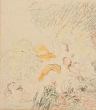 Attr. to James Ensor, Nymphes