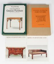 Two Chinese Furniture Books