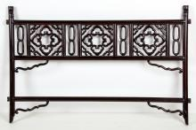 Antique Chinese Carved Hardwood Clothes Rack