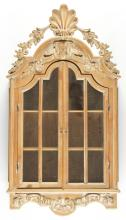 French Provincial Style Wall Hung Curio