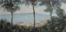 Ben-Haim Tiberias oil on canvas