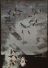 Uri Lifshitz 1936-2011 (Israeli) Birds print
