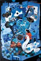 Besanson Touvia b. 1980 (Israeli) The secret of love mixed media and oil on canvas