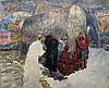 Leopold Pilichowski 1869-1934 (Polish) Rachel's Tomb oil on canvas, Leopold Pilichowski, $7,000